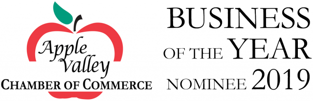 Apple Valley Chamber of Commerce Business of the Year Nominee